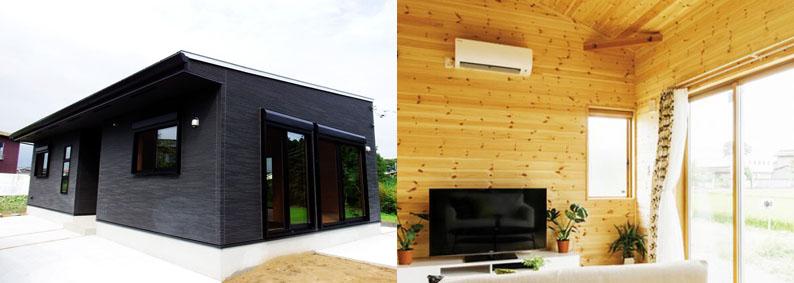 シンプル設計・総無垢木内装の低価格住宅CUTE